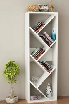 52 Simple Bookshelf Design Ideas That are Popular Today 52 Simple Bookshelf Desi… – Bookshelf Decor Diy Bookshelf Design, Simple Bookshelf, Creative Bookshelves, Bookshelf Ideas, Bookcase Decorating, Decorating Ideas, Decor Ideas, Cheap Bookshelves, Bookcases