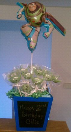My FIRST official order of cake pops - Toy Story Alien inspired *Made by Khaliha