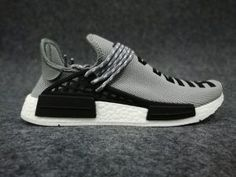 new style 12a0f 5dc09 2018 Pharrell Williams X adidas Boost NMD Human Race Grey White