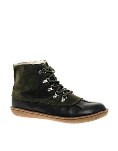I kinda want these ASOS duck boots. $61.11