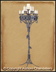 Malbark castle candelabra candelabra floor candelabra and lights floor candelabra candelabras floor lamps page 2 idea aloadofball Image collections