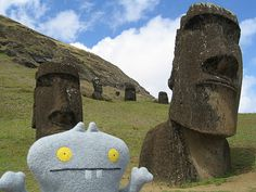Traveling Babo at Easter Island (Rapa Nui) by travelbabo, via Flickr