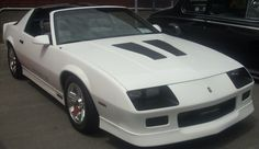 The Muscle Car I fell in love with at the age of 3... '87 Chevy Camaro IROC-Z
