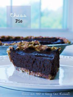 Chess Pie ~ Raw Food Dessert Recipe - LIVER CLEANSING DIET - Learn how to do a LIVER FLUSH http://www.youtube.com/watch?v=e2SxDemOO54 I LIVER YOU