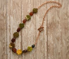 Brown Chalcedony Necklace Cross Necklace Copper Heart Olive Green Jasper Necklace Celtic Jewelry Country Chic Ambient Atelier Jewelry Design by AmbientAtelier on Etsy. I offer 10% off orders from items found on Pinterest.