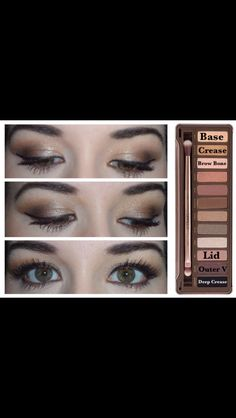 Look with naked 2 pallet