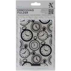 Look what I found on #blitsy! Xcut Universal A6 Embossing Folder-Pocket Watch Background #blitsybuys