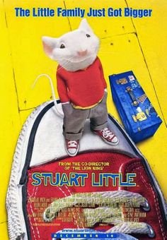High resolution official theatrical movie poster for Stuart Little Image dimensions: 1963 x Directed by Rob Minkoff. Starring Michael J. Stuart Little 2, Jonathan Lipnicki, Geena Davis, Hugh Laurie, Internet Movies, Movies Online, Netflix Movies For Kids, Movies Free, Family Movies