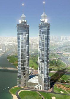 Amazing Snaps: JW Marriott Marquis - Dubai, the Twin Towers....torres gemelas en DUBAI..!!!