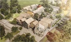 Image 1 of 4 from gallery of New Healthcare Center Winning Proposal / NORD Architects + 3RW Architects. Courtesy of NORD Architects + 3RW Architects