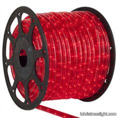 Christmas decorative red led rope lights | iChristmasLight Christmas Rope Lights, Holiday Lights, Red Christmas, Red Rope, Cove Lighting, Christmas Yard Decorations, Led Rope Lights, Light Project, Red Led