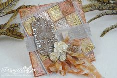 Gorgeous embossed card. Friday Focus - Stampers Anonymous Stamps