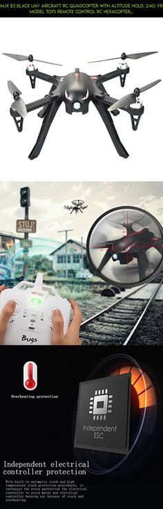 MJX B3 Black UAV Aircraft RC Quadcopter with Altitude Hold, 2.4G VR Model Toys Remote Control RC Hexacopter , Drone with Camera Toy for children #products #parts #shopping #technology #camera #altitude #tech #drones #drone #gadgets #racing #fpv #with #mjx #plans #kit #hold