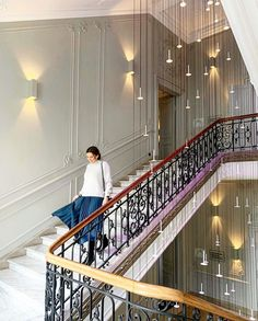 """Titi Velopoulou on Instagram: """"I cannot get enough of this magnificent marble staircase! * * * 