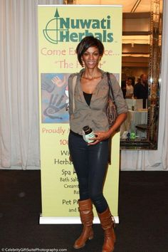 Judi Shekoni attend at Red Carpet Events LA Grammy Awards Gifting Suite 2012