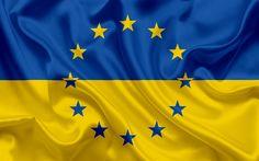 Télécharger fonds d'écran L'Ukraine, l'Europe, le drapeau ukrainien, le drapeau de l'Ukraine