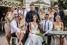 Croatian wedding bridal party photo at Curators Collective in Queen Park, Melbourne Wedding Photographer Melbourne, Melbourne Wedding, Croatian Wedding, Bridesmaid Dresses, Wedding Dresses, Twenty One, The Twenties, Wedding Photography, Queen