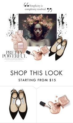 """Pretty"" by madlene-137 on Polyvore featuring beauty, Chanel and Jimmy Choo"