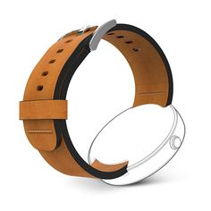 Moto 360 with DODO premium leather bands and 4 color variations: bLue, red, green and tan $59.99