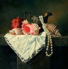 "Saatchi Art Artist Michael Stetkiewicz; Painting, ""Still life"" #art"