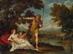 Venus and Adonis-Francesco Albani