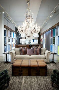 The Shade Store's Midtown Flagship Showroom. #custom #windowtreatments #interiordesign