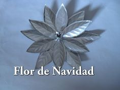 Corona Navideña en material reciclado COMPLETO - YouTube