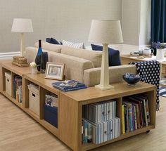 Ahorrar espacio en la sala