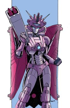 """Elita-1, the leader of the Autobot Femmes. She looks like a queen, """"Queen of the Autobots"""" :3. Now all she needs is her King!  ;-)"""
