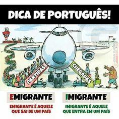 Emigrantes x Imigrantes