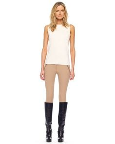 Michael+Kors++Stretch+Gabardine+Riding+Pants. I want these so bad.