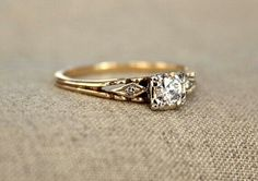Best Engagement Rings, Deco Engagement Ring, Beautiful Engagement Rings, Vintage Engagement Rings, Beautiful Rings, Wedding Rings Simple, Wedding Rings Vintage, Unique Rings, Wedding Band