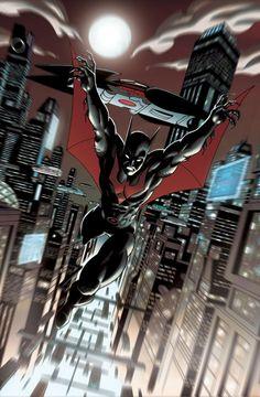 Batman Beyond by Ian Navarro #IanNavarro #Batman #BatmanBeyond #TerryMcGinnis #Gotham #JusticeLeagueUnlimited #JLU
