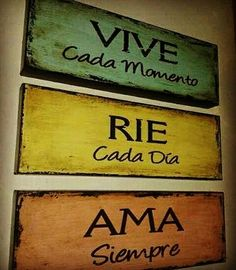 Cuadro Vintage Love the phrases Creation Deco, Wood Signs, Rustic Signs, Bowser, Diy And Crafts, Projects To Try, Shabby Chic, Lettering, Design