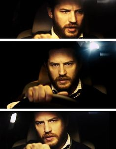 Tom Hardy in Locke. 'Yes, I understand. Listen to me. I will tell you everything you need to know. Yes. Yes. I understand...'
