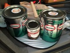 This is the best kind of paint for campers / Rv's. Read more about it here http://myrvliving.tumblr.com/