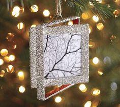 diy square ornament