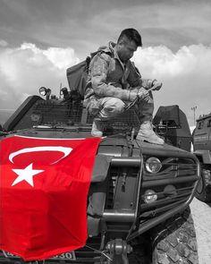 Selam olsun yiğitlere, vatan sevdası için eşinden dostundan uzak olanlara ☪️ . . . #afrin #zeytindalı #bayrak #polis #asker #vatan #türk… Instagram, Olinda, Military, Turkey Country, Photography