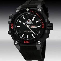 Rothenschild 100 ATM RS-1110-IB-S-PU Reloj para hombres 1000m