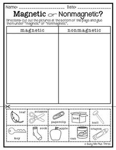 Force and Motion Worksheets Science Experiments Interactive Notebook Activities Science Experiments Kids, Science Fair, Science Activities, Easy Science, Kindergarten Science, Science Classroom, Classroom Ideas, Force And Motion, Science Worksheets