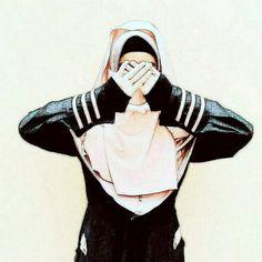 Muslim Girls, Muslim Couples, Muslim Women, Ideal Girl, Anime Muslim, Hijab Tutorial, Hijab Fashion, Women's Fashion, Islamic Pictures