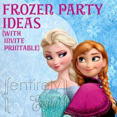 43 Best Molly S 5th Birthday Emily S 3rd Birhday Frozen Party