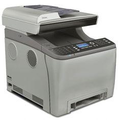 Ricoh Aficio SP C242SF : imprime, numérise, copie et faxe, le tout en recto-verso et en réseau. Ses 256 Mo de mémoire assureront un partage aisé au sein d'un groupe d'une cinquantaine de personnes.