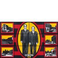 GILBERT& GEORGE  ONE WAY, 2001 Oeuvre composée de 12 photographies numériques couleur encadrées