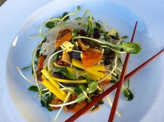 Chilled Asian Glass Noodle Salad