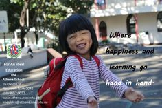 """""""Where Happiness and Learning Go Hand in Hand."""" - The Athena School, Independent Primary and High School Newtown."""