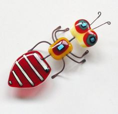 fused glass bug - Google Search