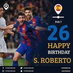 Happy birthday @sergiroberto  A Fighter and Winner. A nightmare of @realmadrid and @psg  #sergiroberto26 #sergioroberto #hapoybirthday #fcbarcelona #spain #barcelona #barca #messi #pique #leomessi  #sergiroberto10 #fcb #fcbarca #saurez #leomessi #luissaurez #leo #football #soccer #futbol