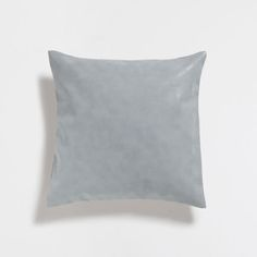 GREEN FADED-EFFECT CUSHION COVER
