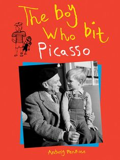 Tony was a boy with a special friend—a world-famous artist by the name of Pablo Picasso. Tony and his parents entertained Picasso at their home in England, and they went to visit Picasso and his family in France, too.Tony, when a child, really did bite Picasso. And Picasso bit him back!